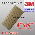Lot 1-50 3M 300LSE Strong Adhesive Clear Pad Cell Phone Camera Digitizer Repair