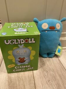 Uglydoll Babo Ceramic Cookie Jar & Stuffed Doll
