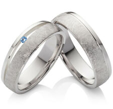 Eheringe Trauringe Verlobungsringe 925 Silber mit Topas und Ringe Gravur SPT43