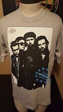 Vintage 90s 1993 U2 Zoo TV Zooropa Dublin Cork Concert Tour T-Shirt Bono Rock
