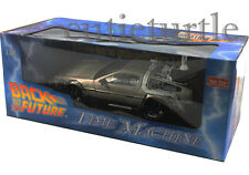 Sun Star Time Machine Back To The Future Delorean 1:18 Diecast 2710 Part II 2