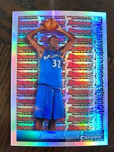 2005-06 Bowman Draft Chrome Refractor /300 Andray Blatche #126 Rookie