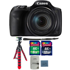 Canon Powershot SX540 HS 20.3MP Digital Camera 50x Optical Zoom with Accessories