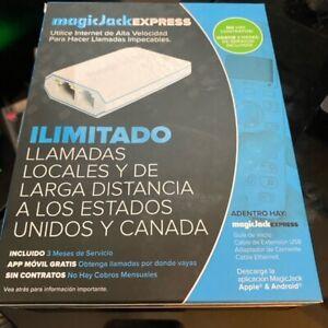 magic-jack Express Digital Phone Service - White BRAND NEW