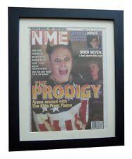 THE PRODIGY+Fire+Breathe+NME 1996+POSTER+AD+FRAMED+RARE+ORIGINAL+FAST WORLD SHIP