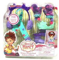 "Fancy Nancy Winter Wonderland Fashionista 10"" Doll Accessory 5 Piece Set"