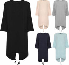 Cotton Long Sleeve Dresses Oversize