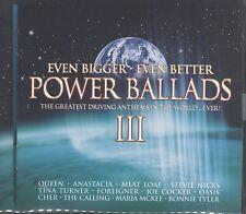 Even Bigger Better Power Ballads V.3 - Various Artists 2cd 36 tracks