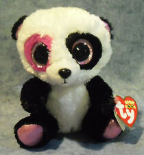 Ty Beanie Boos Mandy - Valentines Panda 6in Plush w/Tags