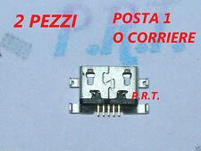 CONNETTORE RICARICA (2pezzi )  MICRO USB PER  huawei honor 6