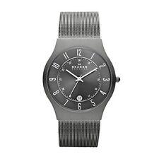 Skagen GRENEN Herren-Uhr Analog Quarz Armbanduhr 5ATM Wasserdicht Edelstahl
