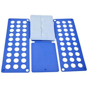 Clothes Folder Organiser T shirt Laundry Storage Clothing Tops Fold Neat Board