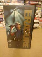 ERASURE - INNOCENTS - VHS VIDEO