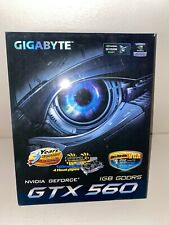 NEW GIGABYTE NVIDIA GEFORCE GTX560 1GB GOORS 3D VISION READY