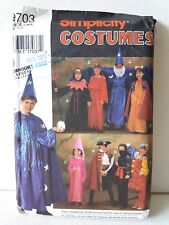 SIMPLICITY PATTERN 9703 ~ CHILD HALLOWEEN COSTUMES 8 STYLES ~ SZ S-L ~ NEW