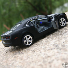 Chevrolet Camaro Alloy Diecast 1:32 Car Model Sound & Light Toys Cars Gift Black