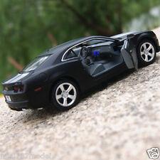 Chevrolet Camaro 1:32 Model Cars Sound&Light Alloy Diecast Toys Cars Gift Black
