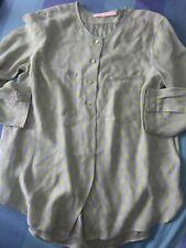 Pregiata Camicia In Seta Max Volmery Tg 46/48