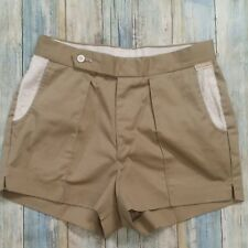 Gant The Rugger Shorts Kahki Casual Cotton Pocket Accent Men's Size 30