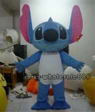 Adult Stitch of Lilo & Stitch Mascot Costume Xmas Birthday Party Dress Outfit