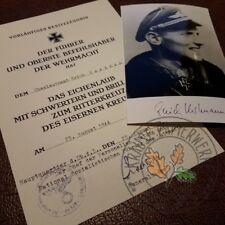 Knight's Cross of Iron Cross Oak-leaves, swords & diamonds for Erich Hartmann