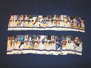 1999-00 UPPER DECK WAYNE GRETZKY HOCKEY SET 140/180 (18-23)