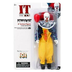 """MEGO HORROR IT THE MOVIE PENNYWISE 8"""" COLLECTIBLE ACTION FIGURE"""