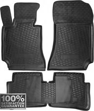 Rubber Carmats for Mercedes W212 2009-2015 All Weather Floor Mats Fully Tailored