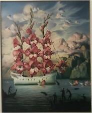 """Kush, Vladimir   """" Arrival of the Flower Ship  """"    Giclee   MAKE OFFER  DSSBA"""