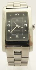 BAUME & MERCIER Hampton SS Black Dial Automatic MV045120 Watch Size: 7.5in as is