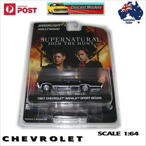 "1967 Chevrolet Impala Sport Sedan Scale 1:64 ""SUPERNATURAL"" Diecast Model Car"