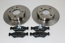 Original Brake Discs + FRONT PADS FORD Not Interior Vented 1112542 +1465126