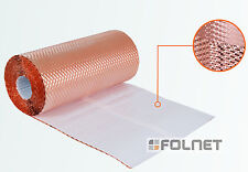 Kupfer 3D-plissiertes 300mm Wandanschlussband Kaminanschlussband Anti Moos Stop