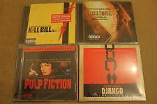 OST Quentin Tarantino FILMS  4CD LOT COLLECTION NEW SEALED