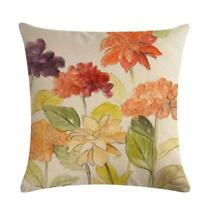 Rhododendron Pattern Pillow Case Throw Cushion Cover Sofa Home Decor F3