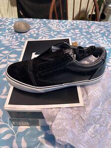 Vans TNT 5 Trujillo size 10 Black/Cement NEW 2011