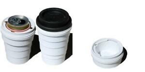 Trinken Lid and Collapsible Cup Can Cooler, Hide Your Beverage Keep...
