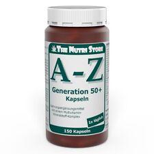 A-Z Generation 50+ Multivitamin Mineralstoff Kapseln 150 Stk. - PZN 00134338