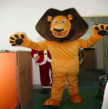 Lion Masoct Costume Cosplay Animal Fancy Dress Forest King Parade Adults Outfits