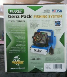 Vexilar FLX-12 Pro Pack II Ice Fishing Flasher/Fish Finder - 12 Degree Ice-Ducer