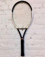 Wilson Hyper Hammer 6.2 Tennis Racquet & Case 110 Oversize Extra Long 4 1/2 Grip