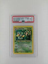 Pokemon Card Neo Genesis 1st Edition- Bellossom Holo #3 - PSA 8.5  NM-MT+