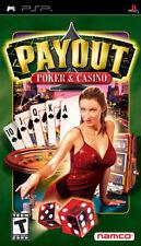 Payout Poker and Casino PSP New Sony PSP, Sony PSP