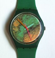 Swatch Watch-1998-Old Bond-New Band-Polished Crystal-New Battery