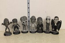 Universal Studios Little Big Heads Set of 7 Figures LOOSE