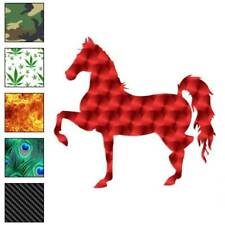 Horse Trotting Decal Sticker Choose Pattern + Size #898