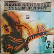 RARE salsa LP Mongo Santamaria FEELIN' ALRIGHT In-a-gadda-da-vida TRACKS TEARS