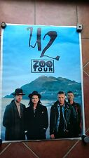 U2 - Zooropa Tour - Zoo TV Tour - Tourposter - Konzertposter - Rare