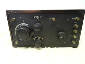 EARLY 1920's CROSLEY MODEL 51 TWO TUBE RADIO RECEIVER