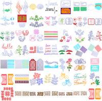 48 Type Metal Craft Cutting Dies Embossing Scrapbooking Stamp Stencil Paper Card